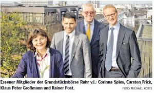 Bild Rainer Post, Corinna Spiess, Klaus-Peter Großmann, Carsten Frick